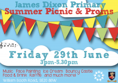 James Dixon Primary School Summer Picnic and Proms