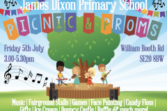 James Dixon Primary School Summer Picnic & Proms